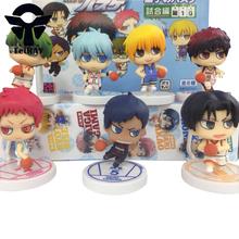 7pcs/set Japan Anime figurines Kuroko no basket Tetsuya Kuroko kise Ryota pvc action figure toys doll for children boy 2.4″ 6cm
