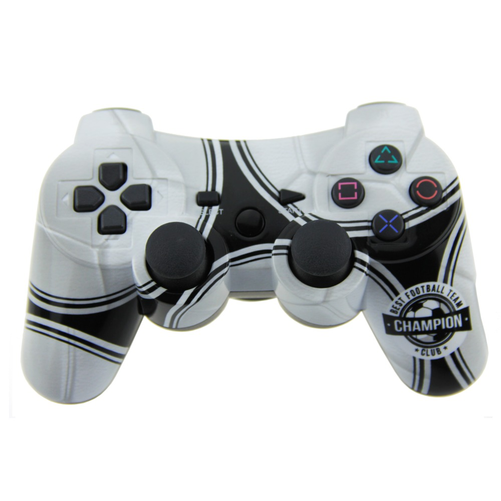 TPFOON Wireless Controller Double Shock SIXAXIS Gamepad Joypad Joystick For Playstation 3 PS3 (New Football)(China (Mainland))