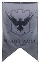 Game of Thrones - Night's Watch Family Banner Flag 3X5(China (Mainland))