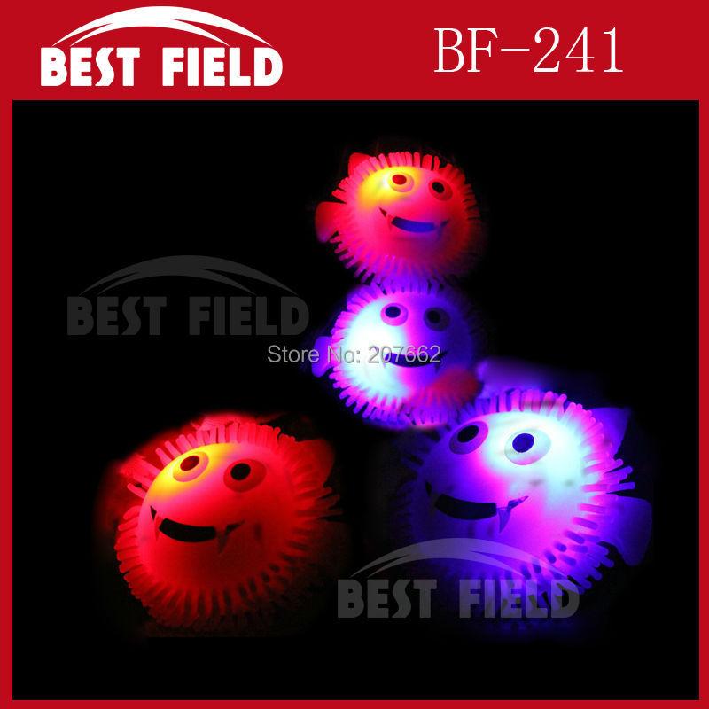Free Shipping 72pcs/lot led bat ring LED flash finger ring LED light finger light ring for halloween decorations supplies(China (Mainland))