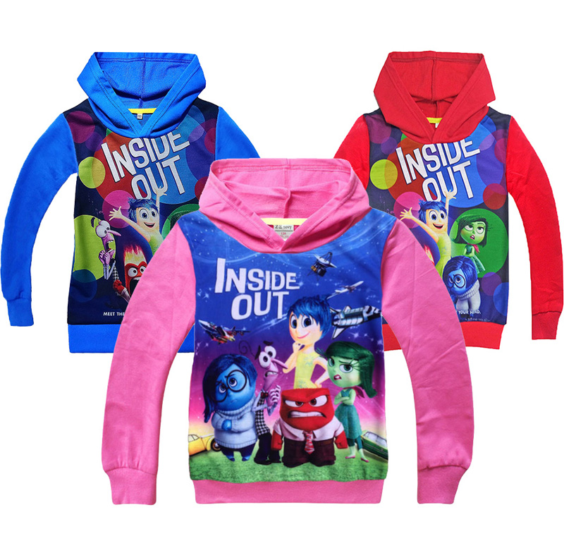 Hot !Inside Out Children clothes coat Thin Sweatshirt Boys Girls Autumn Coat Kids Long Sleeve Casual Outwear kids Clothes coat(China (Mainland))