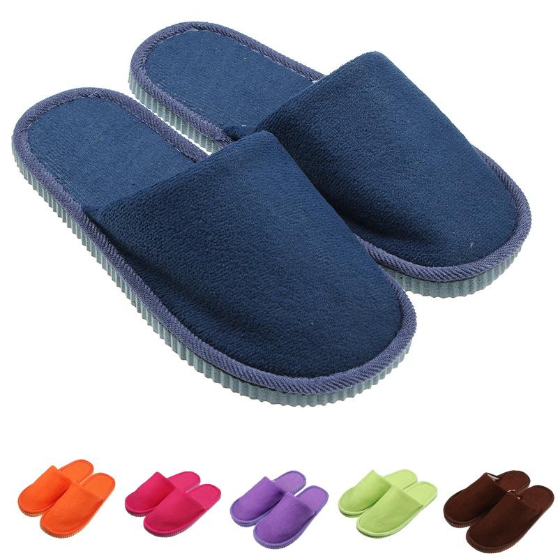 bedroom men women anti slip shoes soft warm cotton house indoor