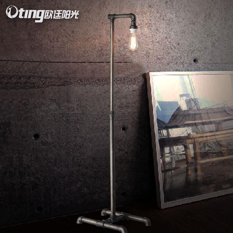 Здесь можно купить  Loft designer section of industrial water Lamp Retro decorated living room iron lamp  Свет и освещение