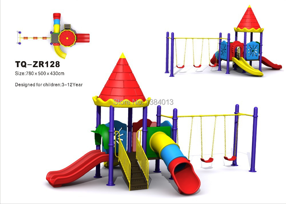 safe EU standard large amusement outdoor playground with multi function(China (Mainland))
