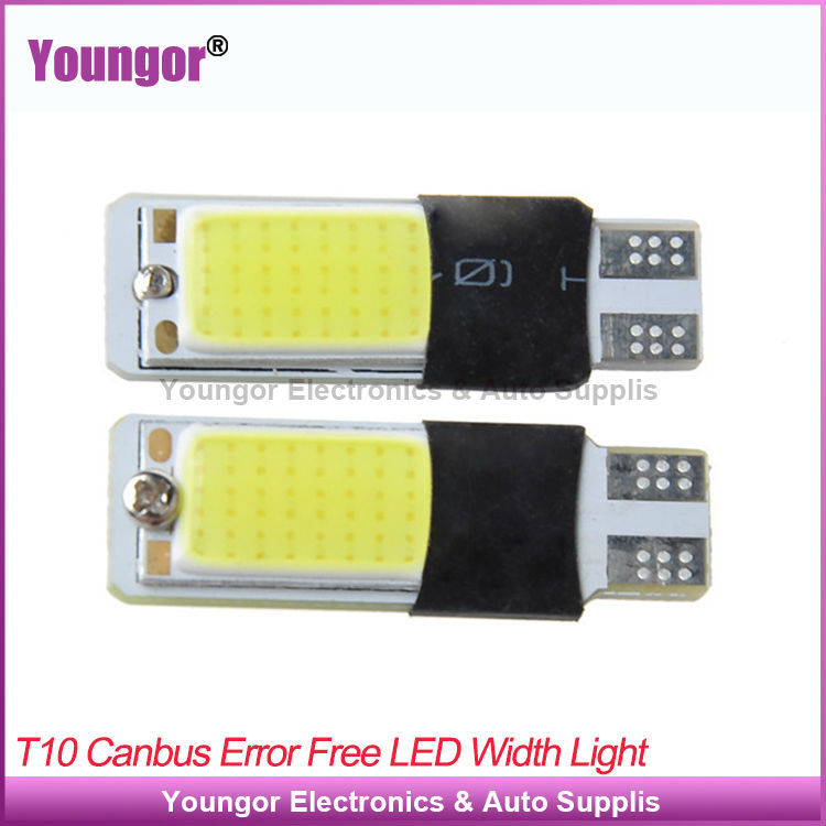 Factory 10 Pieces/Lot T10 Led 12V 5W Canbus High Power COB LED Light Bulbs Error Free Reading Lights - Youngor Electronics Co., Ltd store