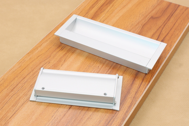 New Simple Style Aluminum Alloy Handle Drawer Cabinet Door Hidden Handles Tatami Used Invisible Pull-handle