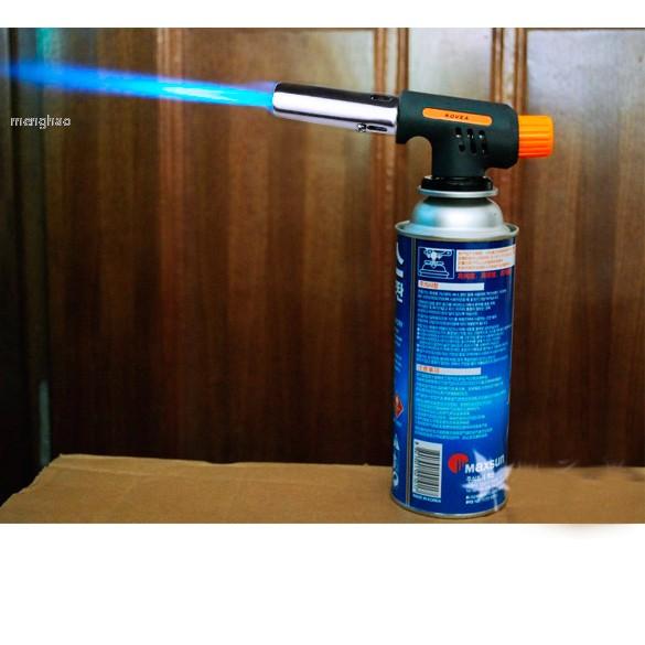 Gas Torch Hiking Camp Fire Starter Maker Flame Gun Lighter One Gasbutane Burner Auto Ignition