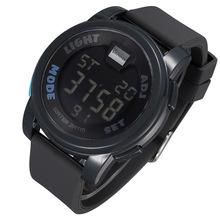 Hot SHHORS electronic watches Multifunctional Digital display electronic watches men 30M waterproof electronic watch