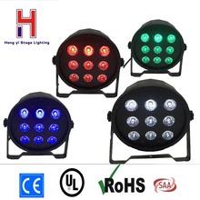 Buy  (4 pieces/lot) led par quad 9x12w wash dmx par led rgbw & dj par rgbw 4in1 dmx led flat par light led lamp for $159.00 in AliExpress store