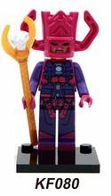 50pcs KF080 Building Blocks Super Heroes The Avengers war Galactus Minifigures children Bricks toys Mini Figures(China (Mainland))