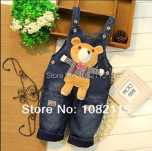 Spring 2015 kids overall jeans clothes newborn baby bebe denim overalls jumpsuits for toddler infant boys