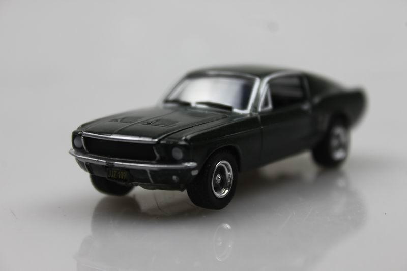 GreenLight 1/64 1968 Ford Mustang GT Bulitt Alloy car model Muscle Car(China (Mainland))