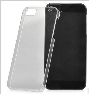 Wholesale 1700x Transparency Clear Crystal Hard Back cover case for Apple iPhone 5s 5th 5G