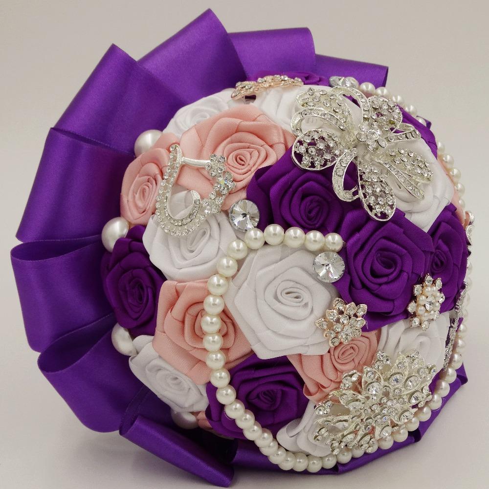 Acheter mode main brideflower bouquet main for Acheter bouquet de fleurs