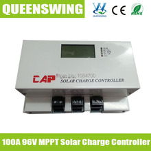 100 а MPPT солнечный заряд контроллер 96 В заряд контроллер кепка солнечный контроллер в и ( QWM-96100CAP )