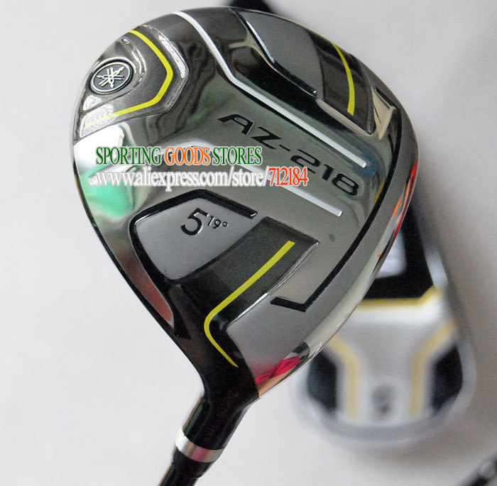 New fairway wood AZ-218 golf Woods set 3#/15 5#/19 with graphite shaft Golf wood headcovers Golf clubs Free Shipping(China (Mainland))