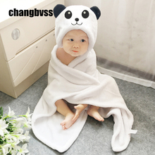 Buy Cute Flannel Baby Bathrobes Soft Newborn Swaddle Wrap Baby Blanket Child Bath Towel manta bebe cobertor Baby Bedding Blankets for $11.64 in AliExpress store