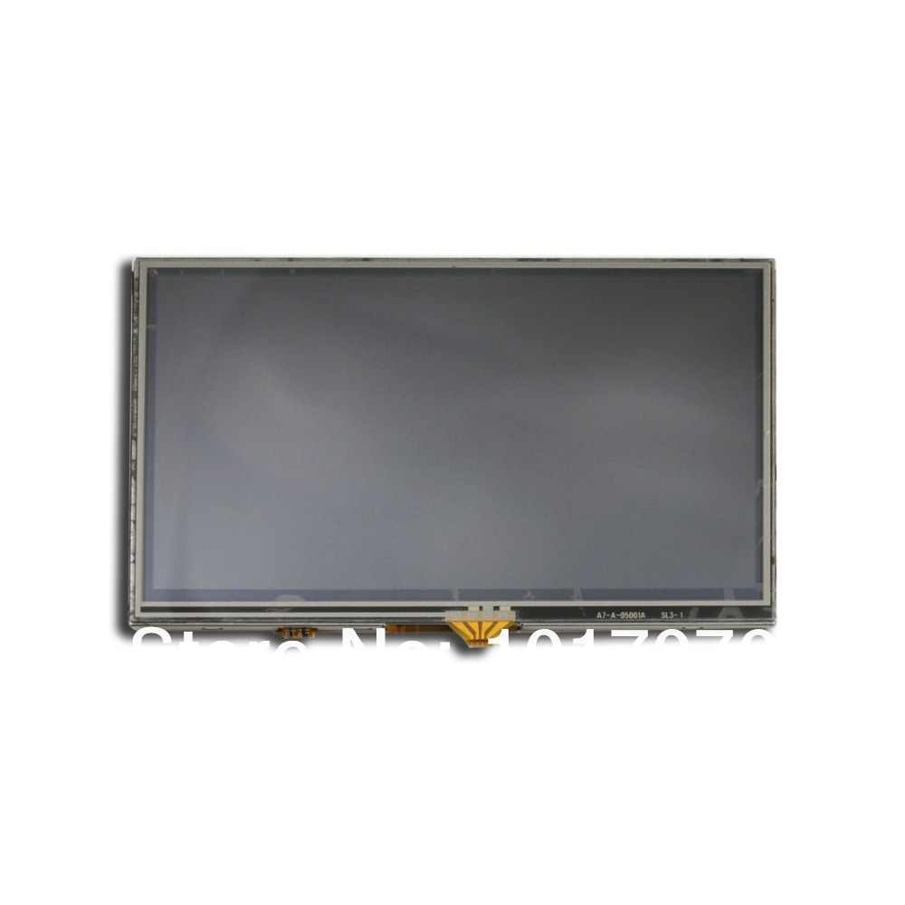 Handheld devices original replacement parts for 5 inch lcd gps A050fw02 display with touch screen digitizer free shipping(China (Mainland))
