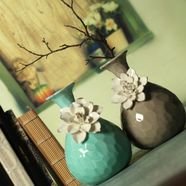 Aliexpresscom Buy Decorative ceramic vases flower vase