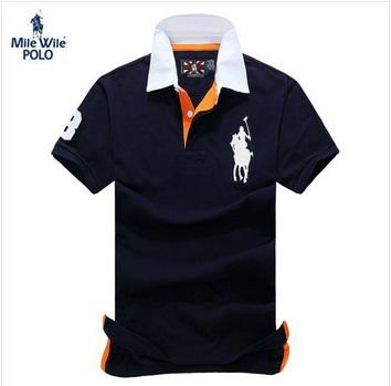 Drop Shipping 2015 Hot Brand Men Polo Shirts Wholesale