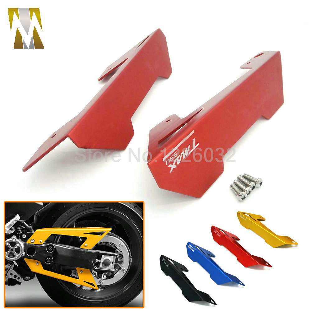 Red/Black/Blue/Gold Motorcycle accessories motorcycle CNC Belt Guard Cover ProtectorFor Yamaha TMAX 530 530 2012-2015(China (Mainland))