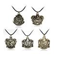 5 Gryffindor Slytherin Ravenclaw Hufflepuff Hogwarts Badge Necklace Pendant Brand Jewelry maxi statement necklace