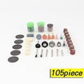 Abrasive Tools 105Pcs Set Drill Rotary Tool Total Grinding Carving Polishing tool Cutting Cut 1 8
