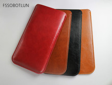 Factory price,DOOGEE HOMTOM HT3 Fahion Slim Microfiber Leather cover Case Pouch sleeve bag DOOGEE Y300/ DOOGEE Homtom HT7