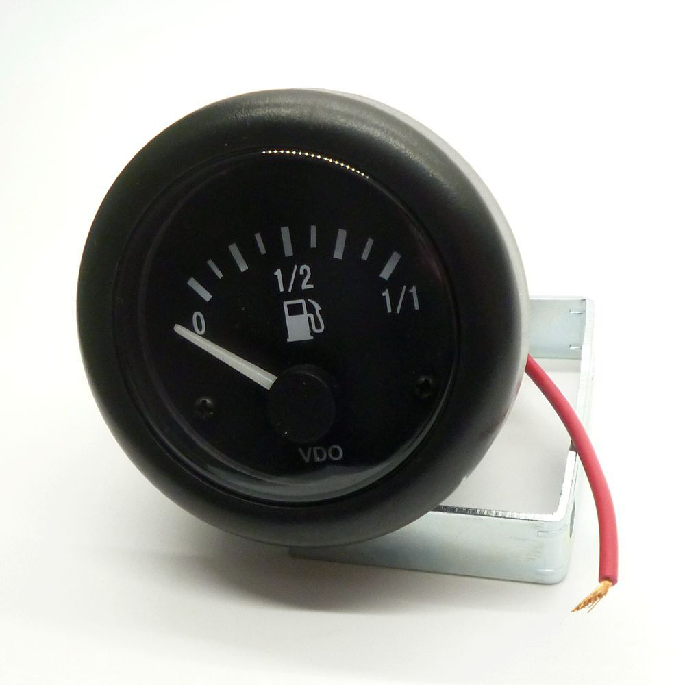 "New 24v Motorcycle Car Truck Gasoline Diesel Fuel Gauge Meter Oil Fuel Level Scale Indicator 2""/52mm(China (Mainland))"