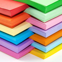 Free shipping 100pcs/lot 80g  A4 color copy printing paper color origami paper office paper 10 colors available