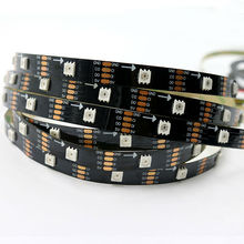 Buy 5M 30LEDs/m APA102 rgb led strip light addressable full color pixel lights ambilight 5050 smd black pcb non-waterproof IP20 DC5V for $29.60 in AliExpress store