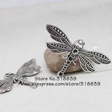 Buy Antique Silver Metal Zinc Alloy Big Dragonfly Charms Diy Jewelry Animal Dragonfly Pendant Charms 5pcs/lot 7028 for $4.45 in AliExpress store