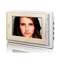 gold color abs 7 Wired LCD Home Security Video Doorbell Intercom system Door Phone home securiyty