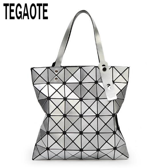 diaper bag designer sale 0rdt  2017 Hot Sale Women Designer Famous Brand Shoulder Handbags Geometric  Rhombus Bags for Women bao bao