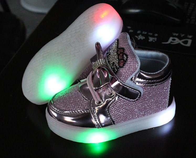 The new hot autumn unisex luminous led licht schoenen kids, girls shoes, zapatillas hombre, kids light up shoes, kids shoes boys(China (Mainland))