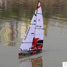 New 100m remote control sailboat toys rc sailboat model sailboat sails adult remote control toys free shipping(China (Mainland))