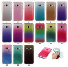 3D Bling Case Samsung Galaxy J1 J3 J5 J7 2016 J510F J120F Gradient Glitter Silicone TPU Soft Cover SM-J710F Coque - MBG-DTechnology Co.,Ltd store