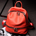 Fashion Design School Bag Girl Luxury Brand Backpacks Soft Leather Genuine Leather Backpack Lovers Outdoor Travel