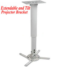 Extension Universal Ceiling Wall Projector Bracket LCD DLP Tilt Up and Down Projector Mount Free Shipping