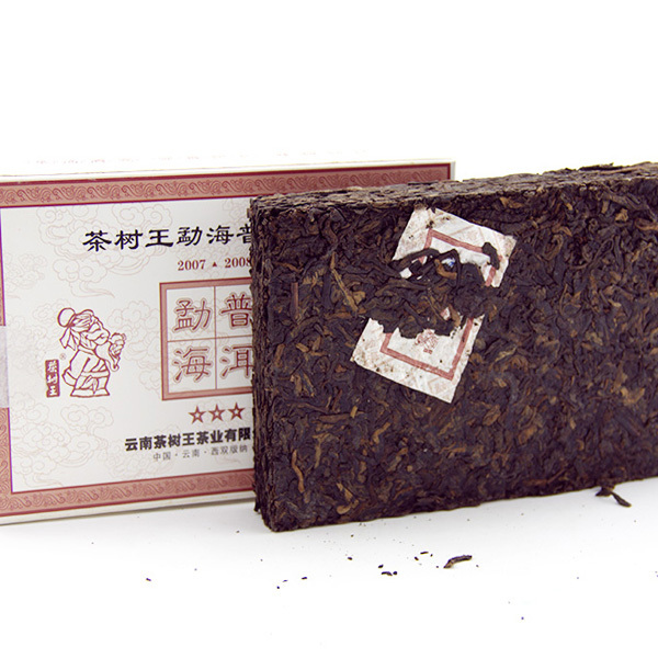 Old shu tea puer 200g the king of tea tree 5 10yrs age Menghai brick puerh