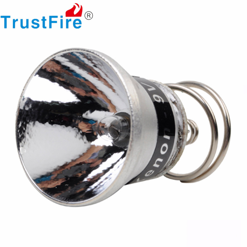 5pcs/lot TrustFire 9V Xenon Bulb 180 Lumens 26.5mm Bulb Lamp Cup Module for Flashlight Torch Cup Portable Lighting Accessories(China (Mainland))
