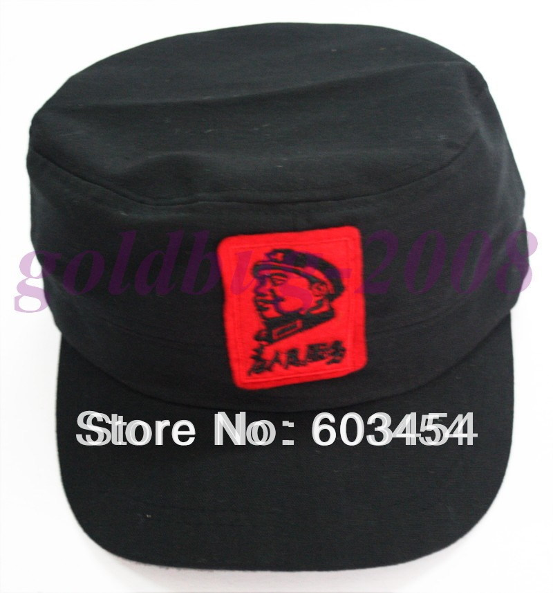 Liberation Period Chinese Handmade Cotton Chairman Mao Pattern Cap/Hat / Free Shiping(China (Mainland))