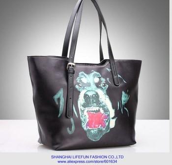 2014 new women GENUINE LEATHER tote bag designer boston bag Shoulder Messenger bag handbag LF06457