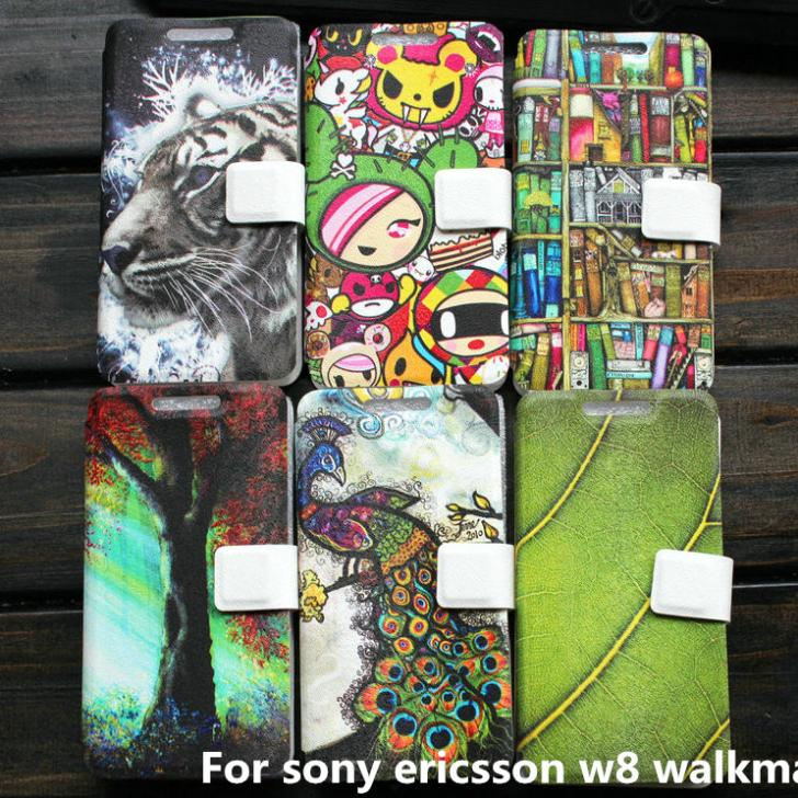 Cover case For sony ericsson w8 walkman case cover gift(China (Mainland))