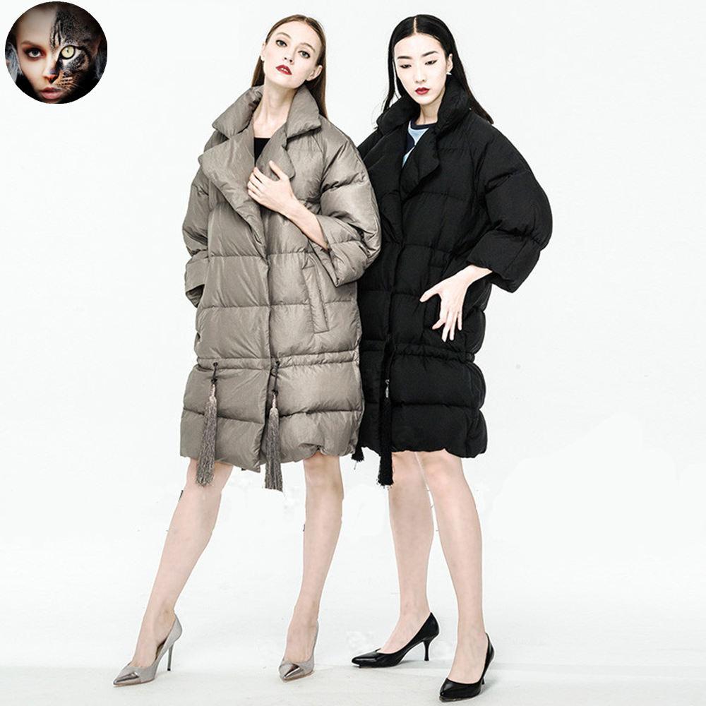 MissFoFo Womens Coats CLJ Tassel Jackets Women's Brand New Jacket Duck Female Plus Size Parka - miss fofo Official Store store