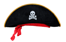 Halloween accessories skull hat caribbean pirate hat skull pirate hat piracy hat Corsair cap party supplies Free Shipping K-0809(China (Mainland))