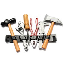 2015 New Children Kids Boy Plastic Safety Repair Building Tool Kits Set DIY Construction Educational Toy Birthday Gifts(China (Mainland))