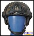 M Lg AOR2 Camo NIJ IIIA 3A FAST Kevlar Bulletproof Helmet With Test Report MARPAT Woodland
