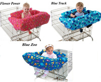 Baby kid infant toddler children boy girl shopping cart cover/grocery/trolley cart cover/shopping trolley seat cover/cushion/pad