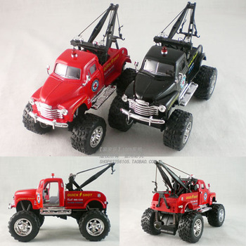 Soft world 1953 CHEVROLET bigfoot rescue vehicles alloy car model toy